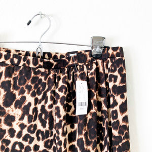 New York & Company Skirts - NY&C Cheetah Print Maxi Wrap Skirt